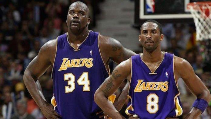 ▲ Shaquille O'Neal 和 Kobe Bryant 。(圖/翻攝自臉書)