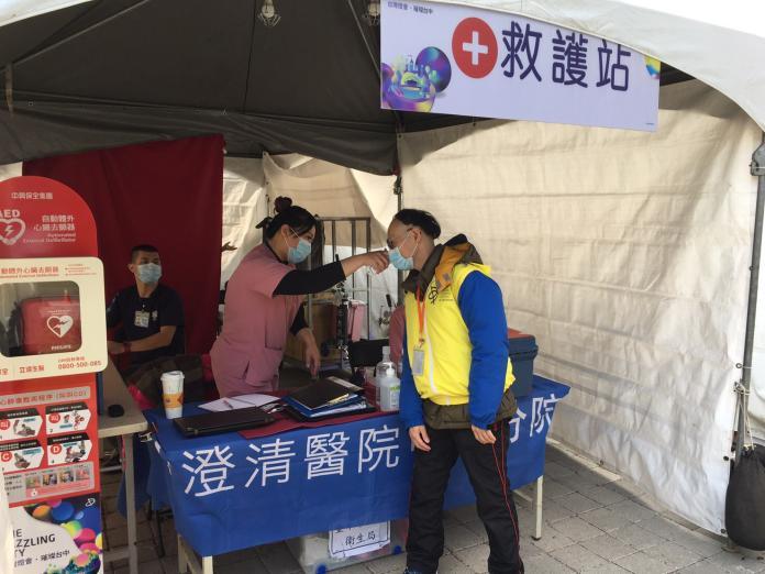 全力防疫武漢肺炎 中市府台灣燈會加強衛教宣導