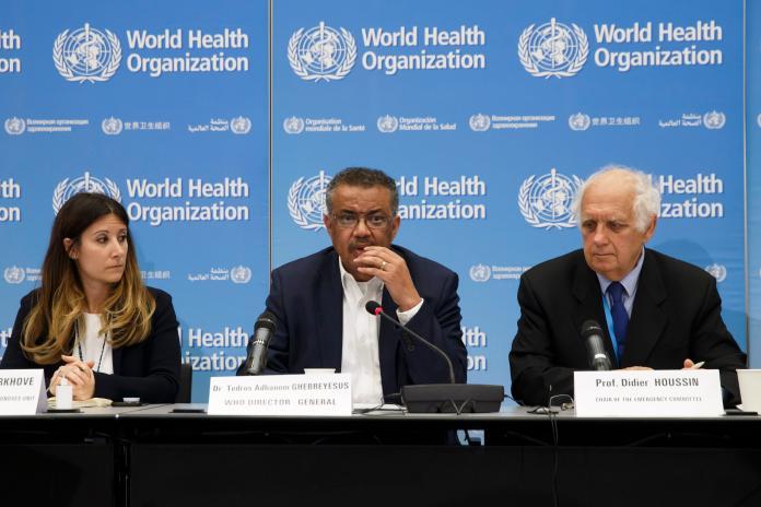 美官員參與世衛會議 稱將加入促進防疫合作計畫