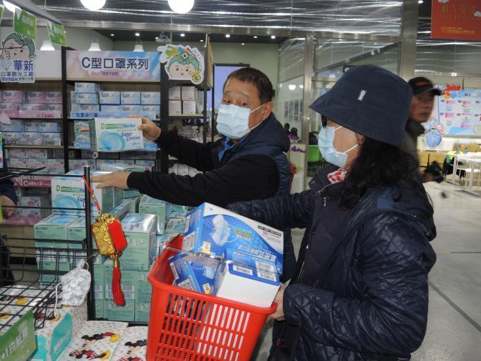 今日社論/武漢肺炎打噴嚏 台灣口罩吵成堆