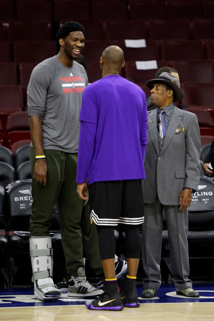 NBA/看Kobe比賽成人生轉捩點  恩比德砍<b>24</b>分致敬