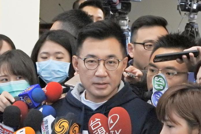 <br> 國民黨立委江啟臣。(圖 / 記者陳弘志攝)