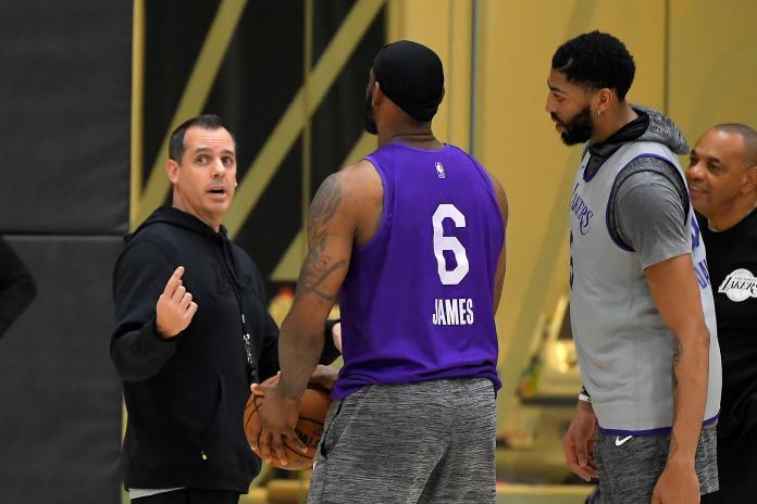 NBA/湖人主帥自知重返前6難度大 盼主控本周歸隊