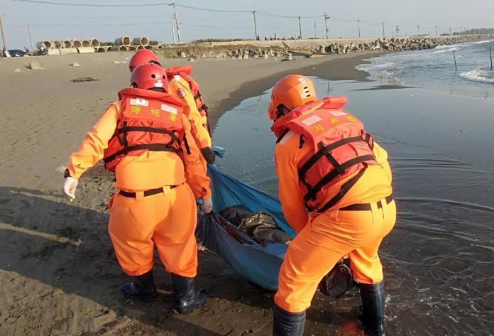守護海洋生物 彌陀區發現綠蠵龜<b>擱淺</b>死亡