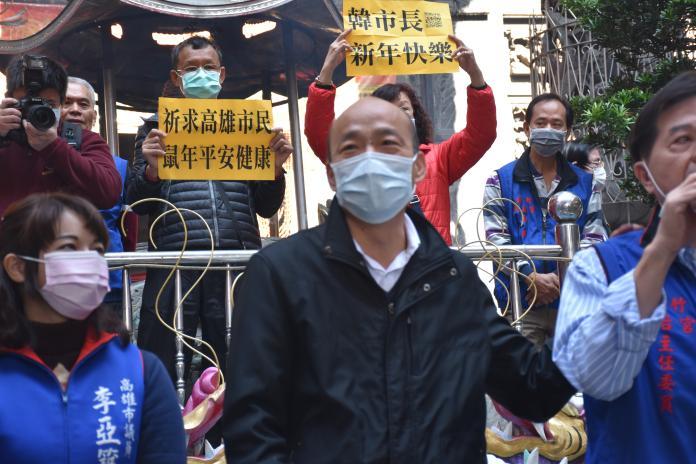 韓國瑜憂心武漢肺炎爆發,要蓋大型收容所防疫。 (圖/記者吳承翰攝)