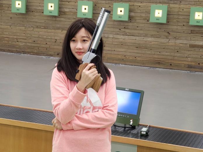 <b>射擊</b>/再次挑戰奧運 吳佳穎自嘲變「證件姊」