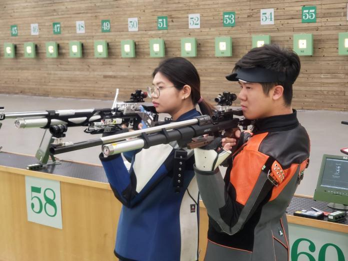 <b>射擊</b>/呂紹全和林穎欣首闖奧運 混雙拍檔先顧好各自項目