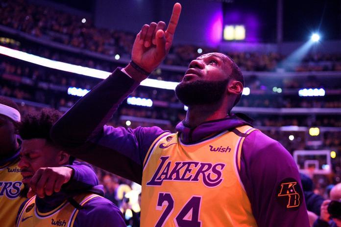 NBA/湖人重返總冠軍賽 詹皇賽後感念Kobe:我倆很像