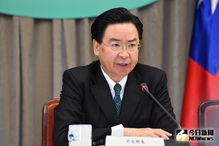 ▲台灣外交部長吳釗燮。資料照。(圖/記者林柏年攝,2020.02.02)