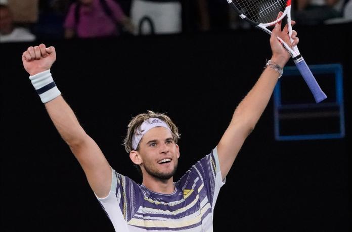 網球/輸2贏3大逆轉!Thiem創造歷史勇奪生涯首座大滿貫