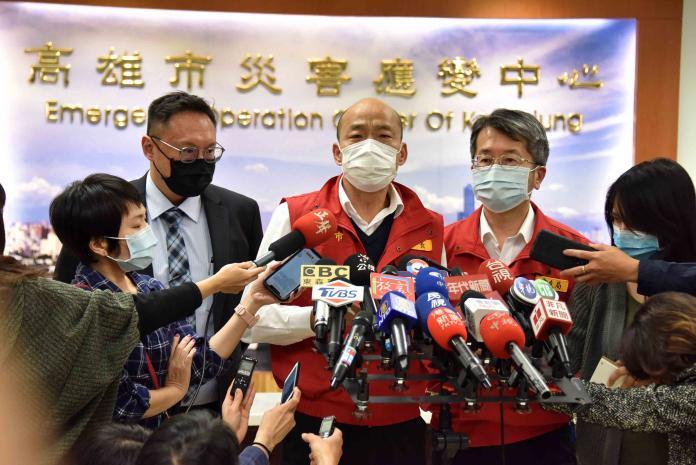 <br> ▲韓國瑜表示,市府不是先知而是先辦,所有防疫工作嚴陣以待,且配合中央做最好的準備。(圖/高市府提供)