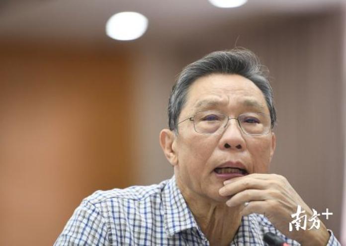 ▲中國大陸抗 SARS 權威鍾南山。(圖/翻攝南方日報)