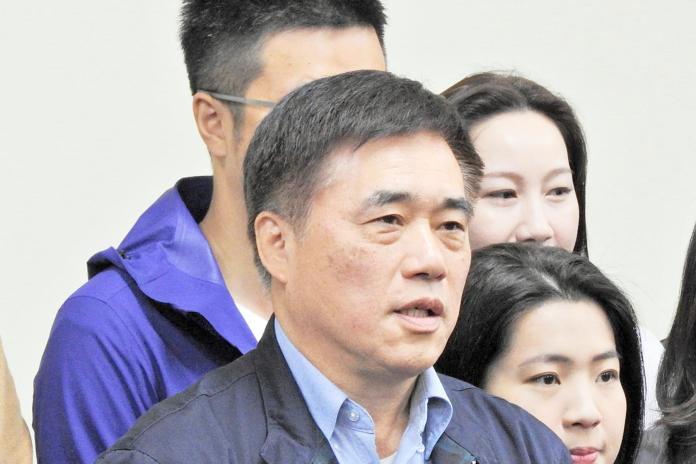 前台北市長郝龍斌。( 圖 / 記者陳弘志攝 )