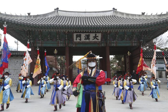 ▲武漢肺炎疫情在南韓有激增趨勢。資料照。(圖/美聯社/達志影像)