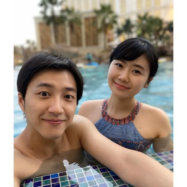 ▲福原愛與江宏傑很相愛。(圖/取自臉書)