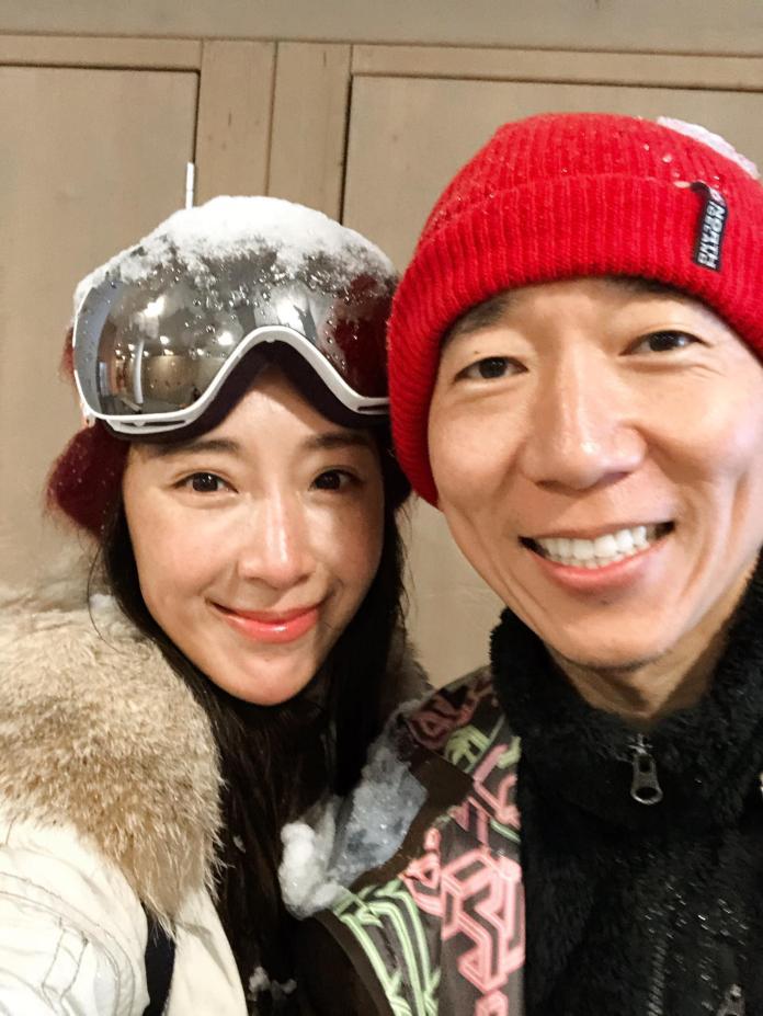 <br> ▲隋棠與Tony結婚5周年。(圖/翻攝臉書)