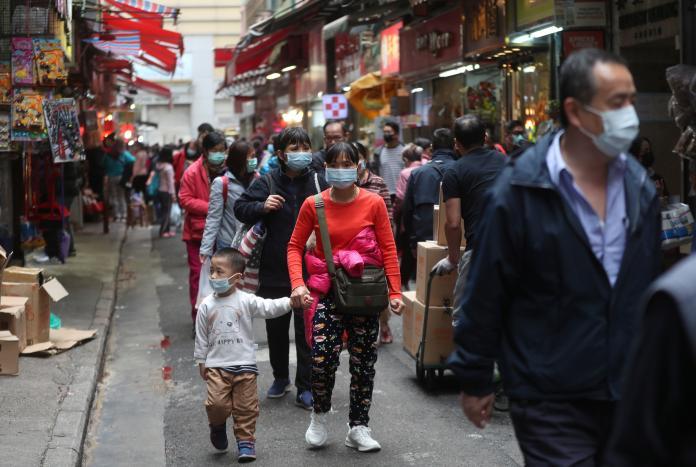 ▲中國爆發的武漢肺炎疫情延燒,連帶影響到日本觀光業。(圖/美聯社/達志影像)