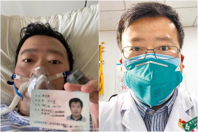 ▲李文亮醫生。(圖/翻攝自微博)