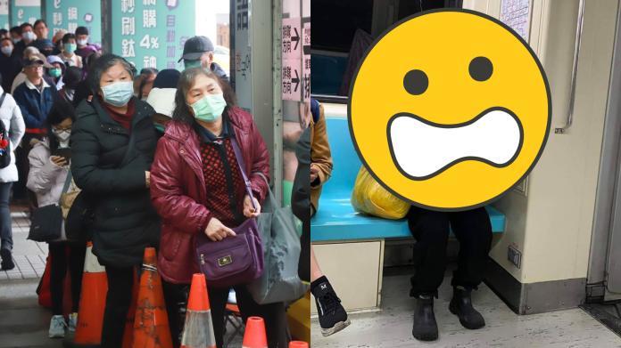 ▲武漢肺炎病毒侵襲台灣,藝人麥基分享一張捷運上拍到的驚人照片。(圖/資料照/FB/meanwhileintaiwan)