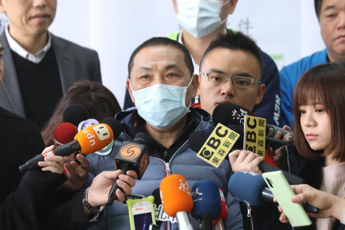 武漢肺炎衝擊新北市<b>稅收</b>少40億?侯友宜:只是階段性預估