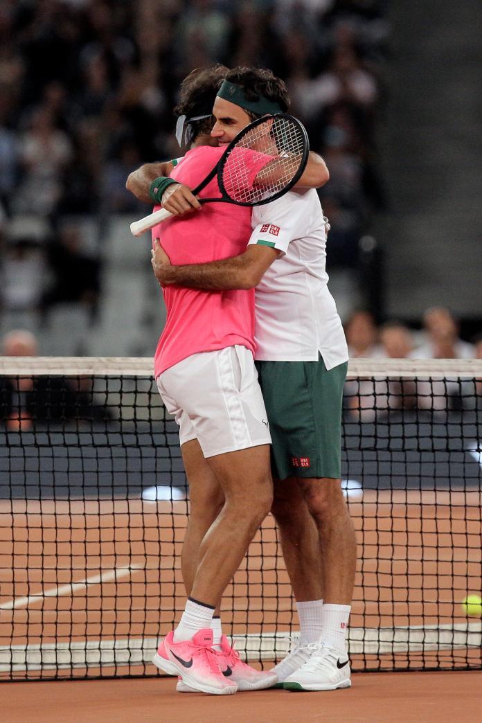 South Africa Federer Nadal Exhibition