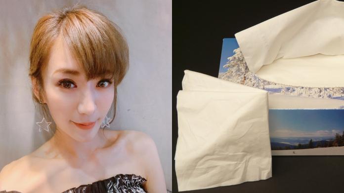 ▲演員羅巧倫為自己囤購衛生紙的行為發文道歉。(圖/臉書、PTT)