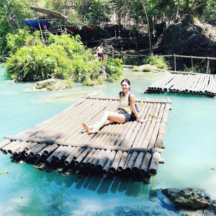 <br> ▲郭惠妮赴菲律賓旅遊。(圖/翻攝臉書)