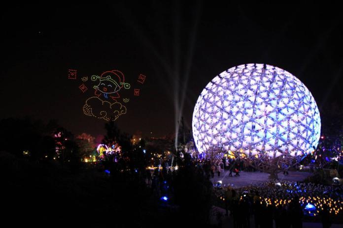 台灣燈會破90萬人 無人機化流星雨驚艷民眾