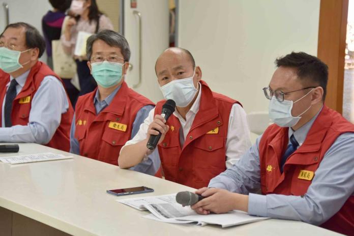 ▲市長韓國瑜提醒市民朋友建立正確的防疫觀念。(圖/高市府提供)