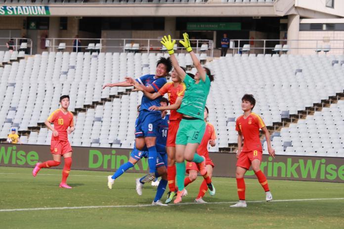 ▲中華隊0:5不敵中國無緣2020東京奧運,在第三輪資格賽出局。(圖/中華足協提供)