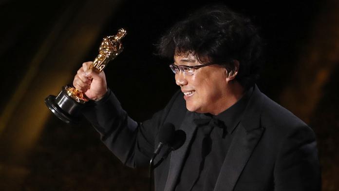 ▲50歲南韓名導奉俊昊奪下第92屆奧斯卡最佳導演獎。(圖/CATCHPLAY提供)
