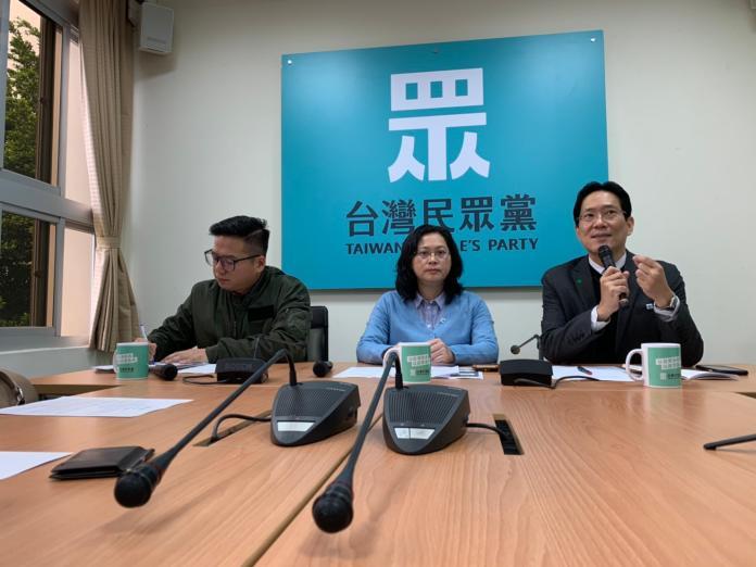 台灣民眾黨立委張其祿(右一)表示,菲律賓方面以「一中原則」禁止台灣人入境,是傷害台菲關係的舉動。