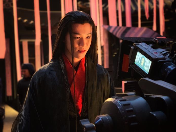 圖說:游書庭曾演出古裝與時裝戲盼能與偶像鄧超對戲_艾迪昇提供