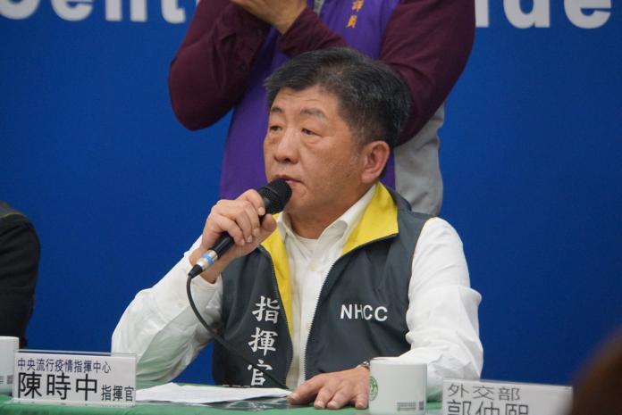 ▲中央流行疫情指揮中心陳時中。(圖/記者呂炯昌攝, 2020.2.12)