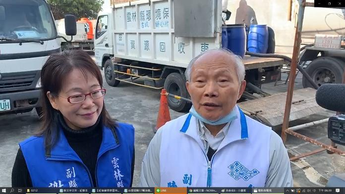 台塑捐贈17噸消毒水1