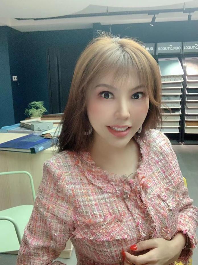 ▲劉樂妍12日發文怒斥台灣媒體抹黑大陸。(圖/臉書)