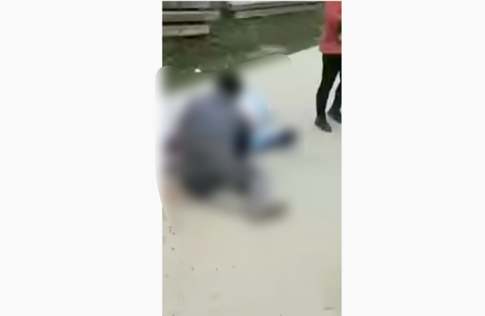 ▲湖北省天門市某村因封村引發衝突,據傳村主任因此遭到斬首。(圖/翻攝網路影片)