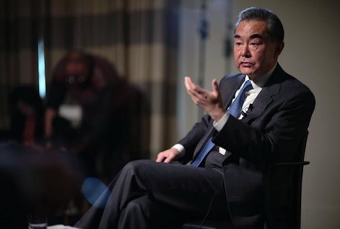 ▲中國外交部長王毅。(圖/翻攝自中國大陸外交部)