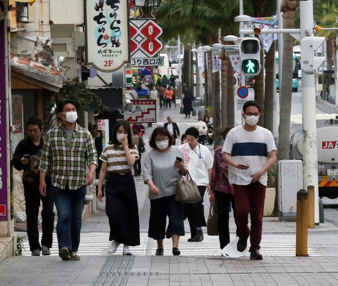 ▲武漢肺炎疫情在日本已有失控現象。(圖/美聯社/達志影像)