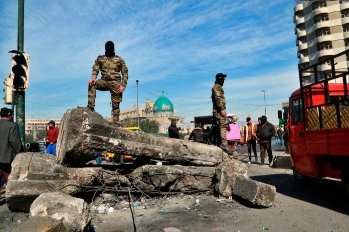 中東局勢動盪!美使館遭火箭彈攻擊 傳多次爆炸聲響