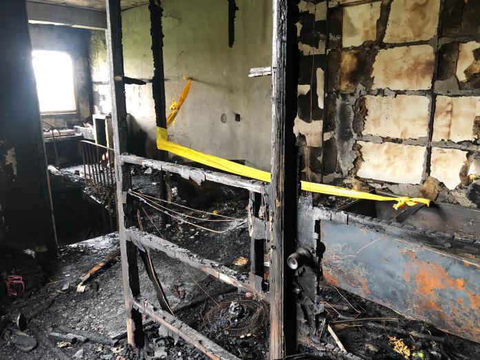 影/移工宿舍暗夜惡火3人獲救 2樓燒燬驚見一焦屍
