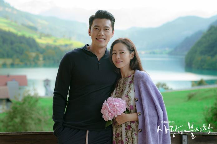 ▲《愛的迫降》驚喜照片,讓觀眾腦補世理懷孕。(圖/tvN