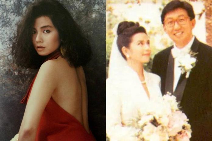 ▲鍾楚紅與朱家鼎結婚16年。(圖/取自新浪微博)