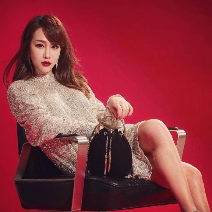 <br> ▲林佩瑤2019年底嫁給名廚武俊傑,正式升格人妻。(圖/林佩瑤臉書)