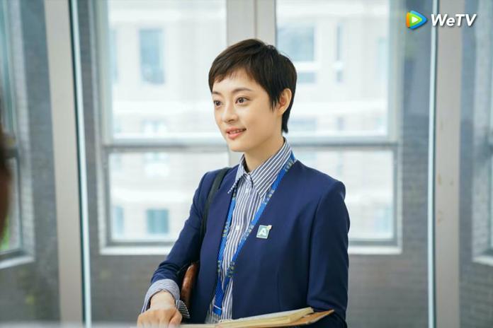 0220 孫儷短髮造型來源自親戚。(圖:WeTV提供)