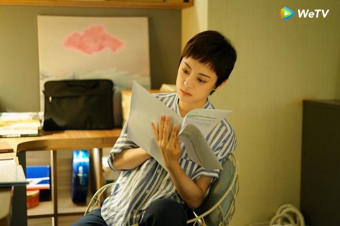 <br> ▲孫儷新戲《安家》飾演業務逆天的房仲。(圖/WeTV提供)