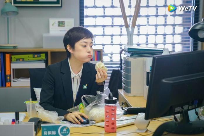 <br> ▲孫儷在新戲《安家》演出職場上班族。(圖/WeTV提供)