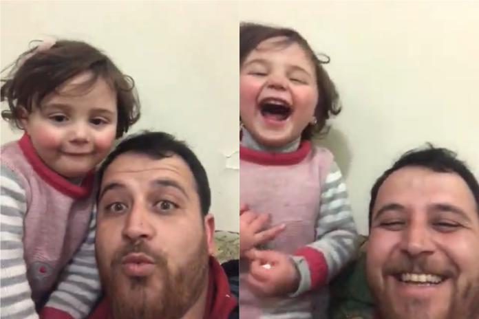 好消息!戰火中「大笑」影片引關注 敘利亞<b>父女</b>現況曝光