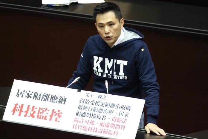 ▲國民黨立委陳以信。(圖/記者葉政勳攝 , 2020.02.21)
