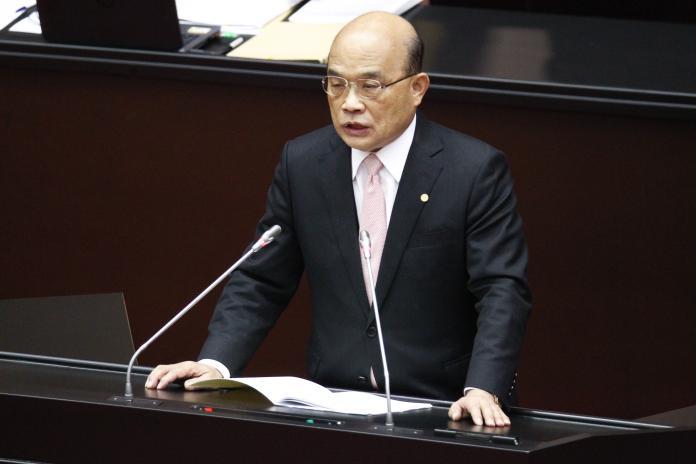 新國會施政報告 蘇貞昌大談防疫成果